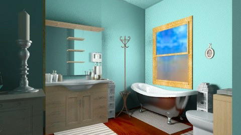 cottage 5 - Vintage - Bathroom - by ferguesfalls