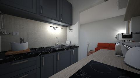 Kitchen Kozarevo dark - Modern - Kitchen  - by phar2