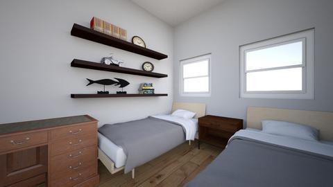 Ainsley_Landon_Room - Modern - Bedroom  - by VNickols77