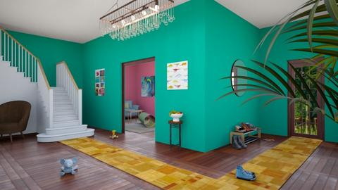 Front Hallway - Minimal - Living room  - by designkitty31