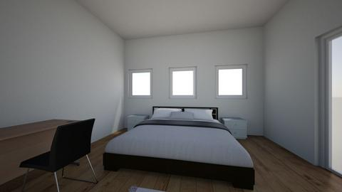 a modern room - Modern - Bedroom  - by clairezchan