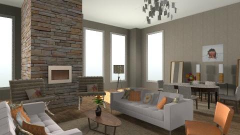 Mid Century Modern - Retro - Living room - by Baustin