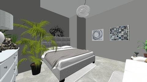 modern adult room - Modern - Bedroom  - by toyjuliette2008
