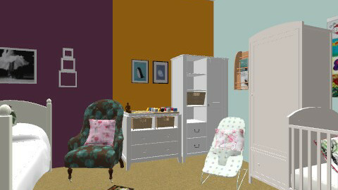 Baby and Toddler Bedroom - Modern - Kids room  - by BambooPenguin