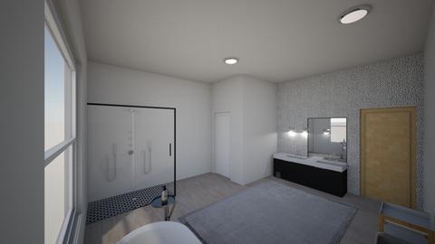 bathroom - Modern - Bathroom  - by kallid