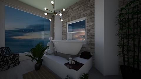 Relax corner - Bathroom  - by haileymilby