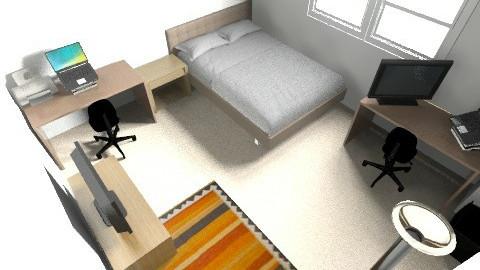 Perkins Green Room 2 - Modern - Bedroom - by sbs4261