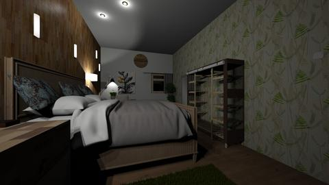 Eco - Modern - Bedroom  - by alenav1998