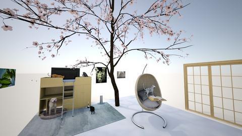 Dream Home_Bedroom - Modern - Bedroom  - by dorle_azile
