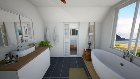 Summer in Byron Bay III - Minimal - Bathroom - by madelinesworld