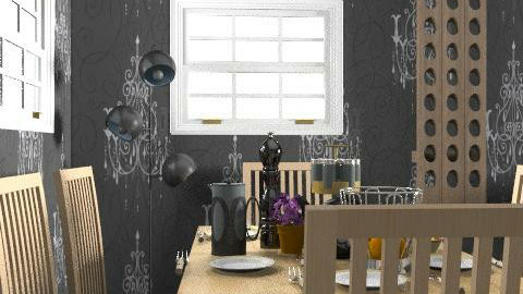 kristiina1234 - Glamour - Kitchen  - by kristiina123