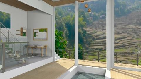 minimal zen bath - Minimal - Bathroom  - by shelleycanuck
