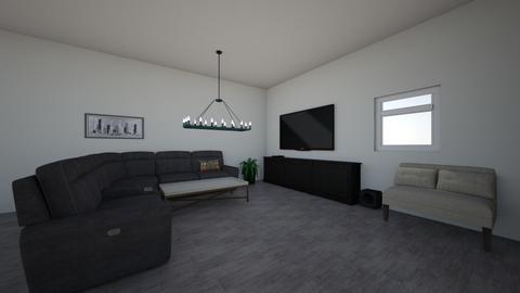 Horizontal room - Living room  - by hannaelizabeth