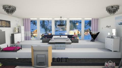 Loft  - Bedroom - by KOTIKI300