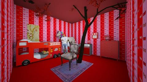 Cherries - Glamour - Bathroom  - by Aidan Eichorst