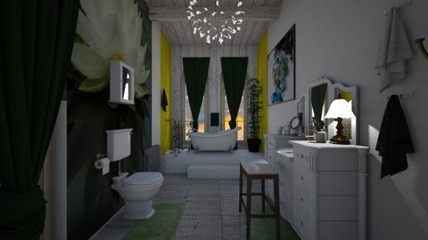 Lillie - Classic - Bathroom  - by decordiva1