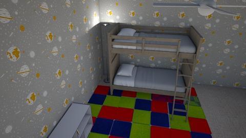 kid bedroom - Bedroom  - by David rogers 17