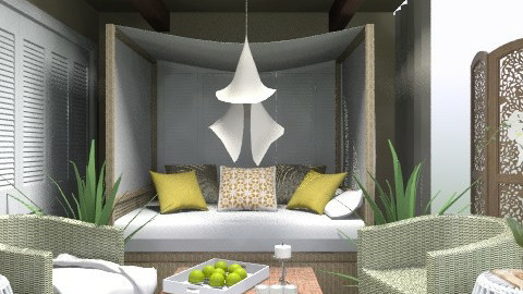 3x3 Luxury Room - Eclectic - Bedroom  - by channing4