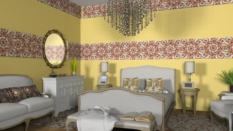 """B"" - Eclectic - Bedroom  - by milyca8"