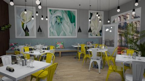 OKeeffe Restaurant Natur - Modern - by Nina Colin