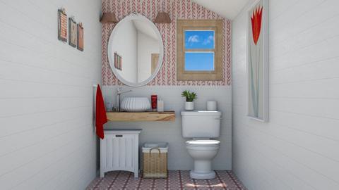 Pepita toilet - Bathroom  - by Charipis home