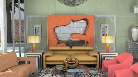 A Retro Room - Retro - by The_Hunter_and_Gatherer