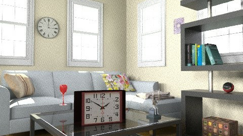 Yellow relax - Modern - Living room - by Yusuf ES