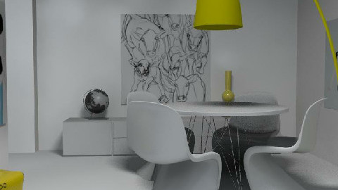 Eric Hoeglund - Dining Room  - by ee_90