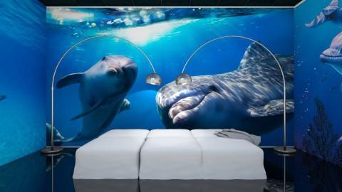 Dolphin  - Modern - Bedroom  - by Uroosa Bint E Haroon