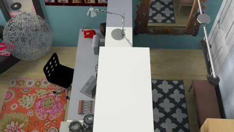 Jeevo-Studio/ walk-in closet - Eclectic - by jixolet_moreaux