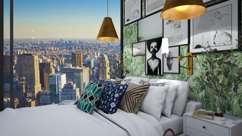 bedroom in new york 2 - Bedroom  - by heynowgregory