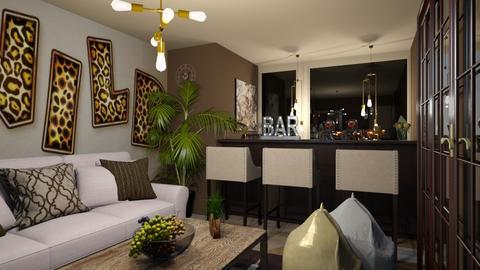 House Bar - Modern - Living room  - by zayneb_17