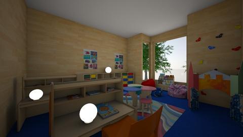 Elementary Classroom - by AiyanaB