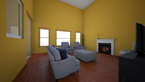 Means Great Room - Classic - Living room  - by kmitch0326