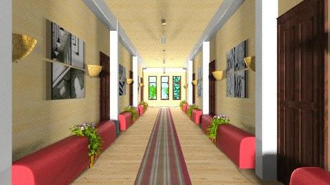 modern school corridor - Modern - Office  - by Veny Mully