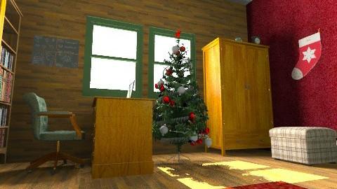 Christmas winter room - Rustic - by Natasha19
