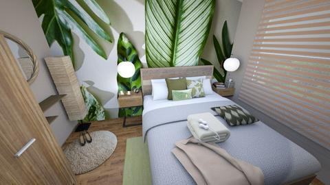 Nature Bedroom - Bedroom  - by VanillaDecor