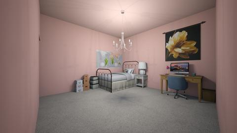 Pink Bedroom - Classic - Bedroom  - by Sophia_Pavate_