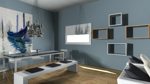 house in bergen masculine - Living room - by alaralicious
