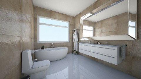 chocobath - Bathroom - by ceciliadamian