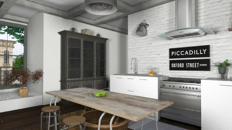 Brooklyn Kitchen - Eclectic - Kitchen  - by LizyD