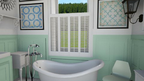 Mint Bathroom - by Musicman