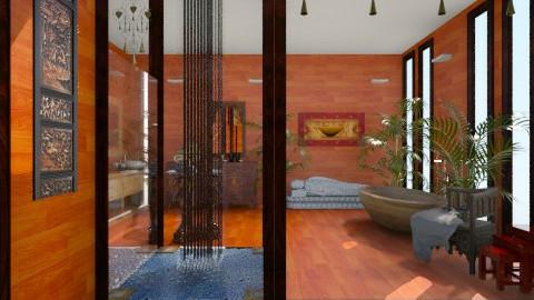 Wood - Eclectic - Bathroom  - by giulygi