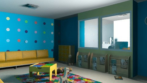 Pediatrician waiting room - Eclectic - Kids room  - by muffinswithfrosting