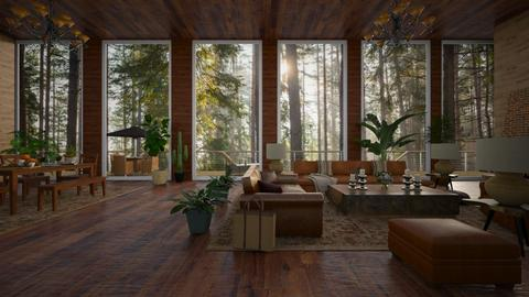 liv17062021 - Living room  - by jezek1