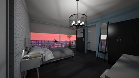 Room with bathroom - Bedroom  - by Noa Jones