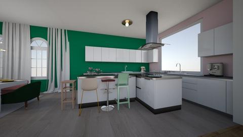 ztd - Kitchen - by dzan14