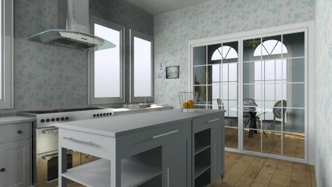country cottage - Country - Kitchen  - by deanna12