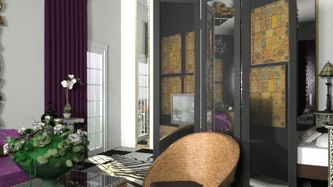 black ar deco - Eclectic - by chania