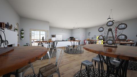 Bar - Kitchen  - by DemiBarone18